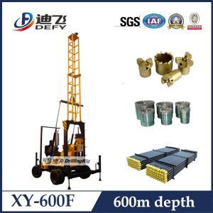 Buy cheap Equipamento de perfuração giratória do núcleo de XY-600F para 600 medidores product