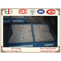 Buy cheap High Cr Cast Iron Parts Wear Plates AS 2027 Cr15 Mo3 HRC60 EB20074 product