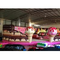 Buy cheap Inflatable Cake Toddler Bounce House , Inflatable Jumping Castle Quadruple Stitching product