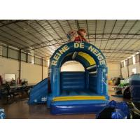 Buy cheap Frozen inflatable combo princess inflatable combo inflatable combo castle with frozen cartoon inflatable small jump product