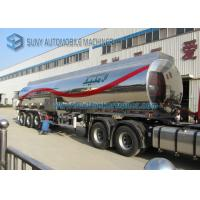Buy cheap Customized Stainless Steel Tanker Trailers product