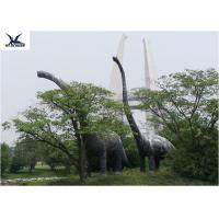 Buy cheap Amusement Facility Animatronic Lifelike Animal Statues Moving Dinosaur Models product