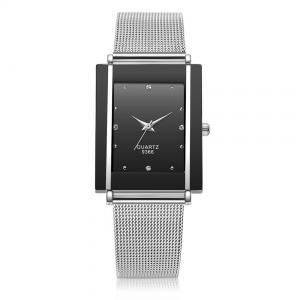 Buy cheap Stainless Steel Mesh Belt Mens Quartz Watch Splash Proof SEIKO Movement product