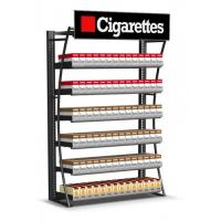 Buy cheap Modern Wide Cigarette Display Shelf Cigarette Storage Cabinet Fully Welded product