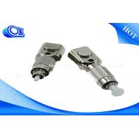 Buy cheap FTTH FC SC LC ST SM/MM RoHS Square Bare Fiber Optical Cable Adapter < 0.2DB product