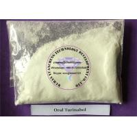 Buy cheap Gaining Muscle Testosterone Anabolic Steroid Raw Powder Oral Turinabol  CAS 2446-23-3 product