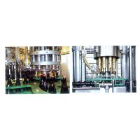 Buy cheap Professional Glass Bottle Filling Machine For Wine / Alcohol / Liquor , High Speed product