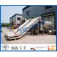 China SUS304 SUS316L Fruit Clapboard Elevator Fruit Processing Equipment For Fruit Conveying on sale