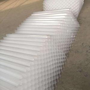 Buy cheap UV Resistant PP Tube Settler Waste Water Tube Settlers Water Treatment product