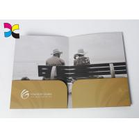 Buy cheap Environment - Friendly Printed File Folders With Pockets ,  Luxurious Restaurant Bill Folder product
