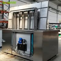 Buy cheap Automatic Ultrasonic Cleaner with Hydraulic Lift PLC Controlled for Wheel Rim Cleaning product