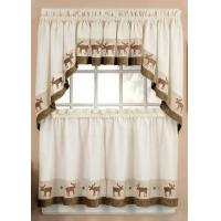 Buy cheap golden decoration window curtain product