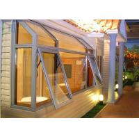 Buy cheap Morden House Tempered Glass Aluminium Awning Windows / Top Hung Window product