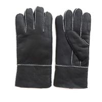 Buy cheap Spain merino shearling lamb fur glove patched glove sheep skin gloves product