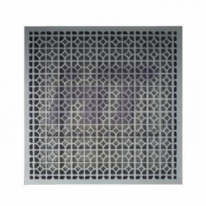 Buy cheap Perforated Clean Room Raised Floor Ventilation Rate 55% Die Cast Aluminum product