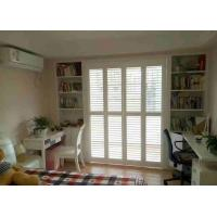 Buy cheap Basswood Window Plantation Shutters Eco - Friendly Clear View Antiseptic product