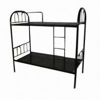 Buy cheap Cheap High-quality Bunk Metal Bed, Comes in Black product