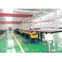 China Large diameter pipe beveling machine for pipe spool fabrication line on sale