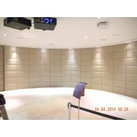 Buy cheap Large Heavy duty Automatic Curved Sliding Door for Hongkong building Stage background product