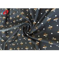 Buy cheap Plain Spandex Polyester 4 Way Stretch Fabric , Printed Lycra Fabric For Swimming Trunks product