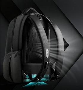 China Innovative design Intelligent Backpack  Laptop bag  one-key heating & cooling     USB charging Customerized on sale