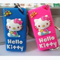 Buy cheap 8GB Hello Kitty Cartoon USB Flash Drives, Cat Soft PVC USB Stick product