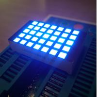 Buy cheap Ultra Blue 3Mm 5X7 Dot Matrix Led Display Row Cathode  For Elevator Position Indicator product