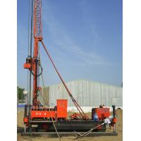 Buy cheap Full Hydraulic Jet Grouting Drilling Rig vice winch and electrical control power from wholesalers