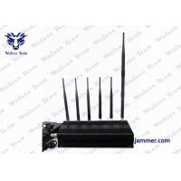 Buy cheap 6 Antenna Handheld Signal Jammer 15 Watts Output Power 40 Meters Range product