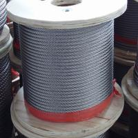 Buy cheap Iwrc/Iws Core Steel Wire Rope 7X37 6X37+Iws/Iwrc Struction Galvanized Rope product
