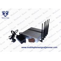 Buy cheap 3G 4G Wimax Remote Control Jammer Effective Operating For Cell Phones product