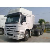 Quality HOWO 6x4 10 Wheeler Tractor Head Truck Heavy Duty Prime Mover 420HP ZZ1047C3414B111 for sale