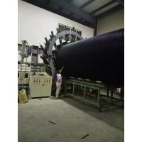 Buy cheap large diameter spiral winding pe hdpe plastic steel reinforced pipe machine extrusion line production for sale from wholesalers