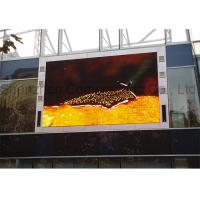 Buy cheap Customized P10 SMD Advertising Outdoor Full Color LED Display Large High Brightness  Video Wall for Building product