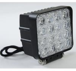 China 48 Watt LED Auto Car Head Lights 4*4 LEDs Waterproof IP 67 Truck Work Lights on sale