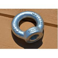 Small Swivel Lifting Eye Bolt and Nuts DIN582 M24 for Lift equipemt , Structral