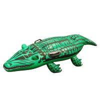 Buy cheap Super Safe Giant Gator Ride-On Pool Float , Inflatable Swimming Toy for Kids 51