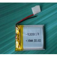China 302030 3.7v 140mah polymer battery for mini GPS tracker blutooth handset battery on sale