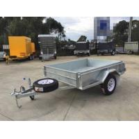 Buy cheap 7x 5 Hot Dipped Galvanised Single Axle Trailer 750KG product