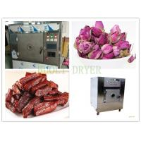 Quality 8KW SS Microwave Vacuum Drying Equipment Box Type Food Sterilizer Machine for sale