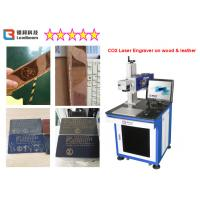 China 60W Wood Laser Engraving Machine For Wood Craft , Stone Carving Machine With High Speed on sale