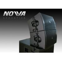 Buy cheap Line Array Outdoor Theater Sound System / Pro Outdoor Subwoofer Speakers product