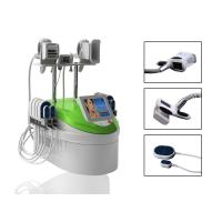 Buy cheap RF Infrared Lipo Laser Machines 4 in 1 Weight Loss Cryolipolysis Handle product