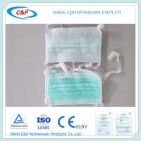 China Non woven Disposable Face Mask / Surgical Face Mask (Ear-loop or Tie-On) on sale