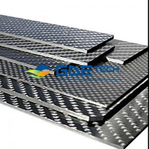 Buy cheap armadura de la placa de la fibra de carbono de 500*400*2.5m m/de tela cruzada del panel/de la hoja 3K product