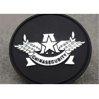 Buy cheap Sew On Badges Type Custom Clothing Patches Pvc Label Round Shape product