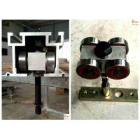 Buy cheap Nylon Roller Partition Wall Parts  Double Rubber Seals Durable Fashion Design product