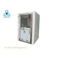 Buy cheap 220V Pass Through Powder Coated Steel Cleanroom Air Shower product