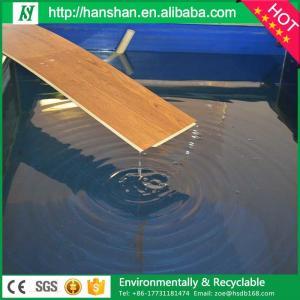 Buy cheap Tipo plástico grabado en relieve suelo del tablón del vinilo con el SGS de Hanshan product