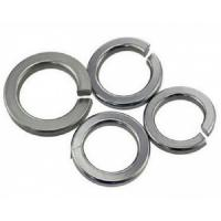 Buy cheap Stainless Steel Split Spring Lock Washers With Bend And Flat End Din7980 Din 127a Din127b product
